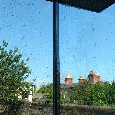 Ken O'Brien Carpentry and Building - Hracho Wina glass corner (2)