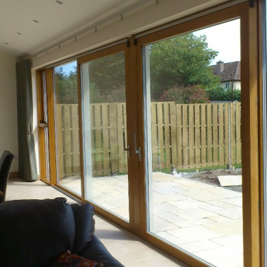 Ken O'Brien Carpentry, Building, Roofing - Krone lift and slide doors