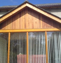 Ken O'Brien Carpentry and Building - Wood sun room